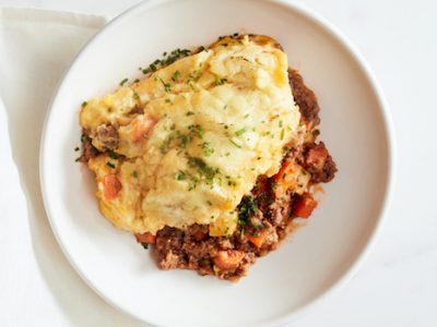 Luck of the Irish Shepherd's Pie