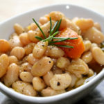 Slow Cooker White Beans With Rosemary & EVOO